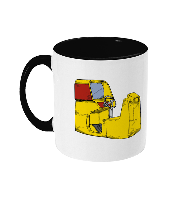 Gaming Arcade 'Old Driving Game' Mug