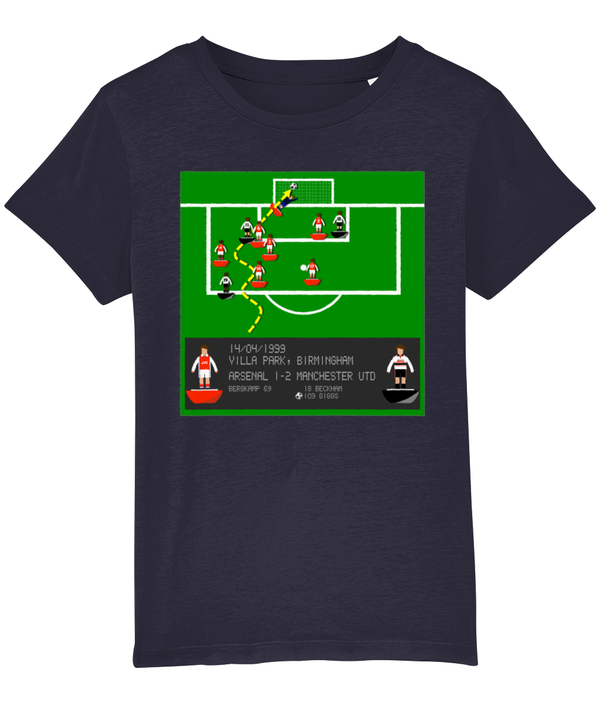 Football Iconic Moment 'Ryan Giggs Arsenal v MANCHESTER U 1999' Children's T-Shirt