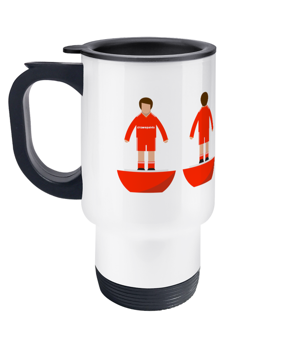 Football Player 'Liverpool 1986' Travel Mug