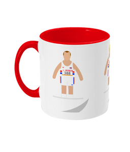 Football Player 'Ovett Cram Coe 1984' Mug