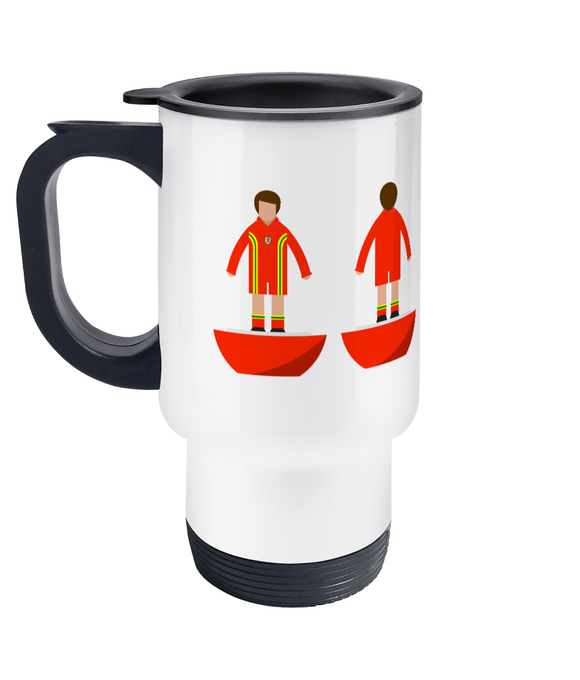 Football Player 'Wales 1976' Travel Mug