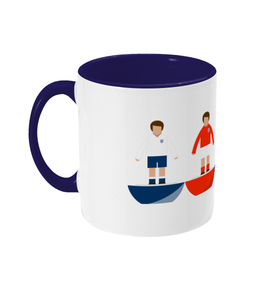 Football Player 'England combined' Mug