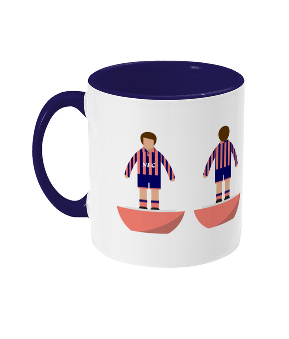 Football Player 'Everton 1992 away' Mug