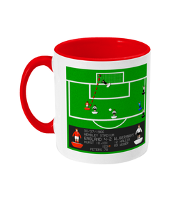 Football Iconic Moment 'Geoff Hurst England v Germany 1966' Mug