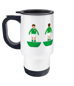 Football Player 'Ireland 1990' Travel Mug