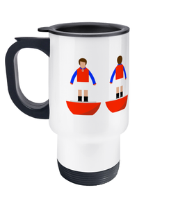 Football Player 'Aldershot 1926' Travel Mug