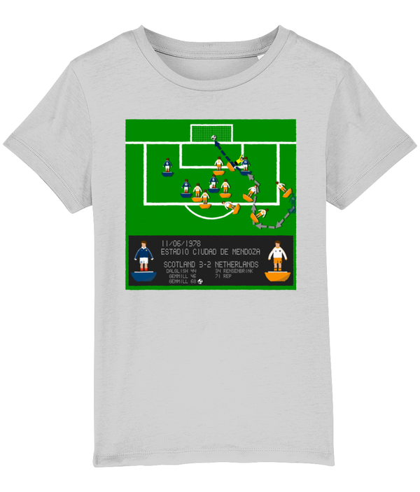 Football Iconic Moment 'Archie Gemmill SCOTLAND v Netherlands 1978' Children's T-Shirt
