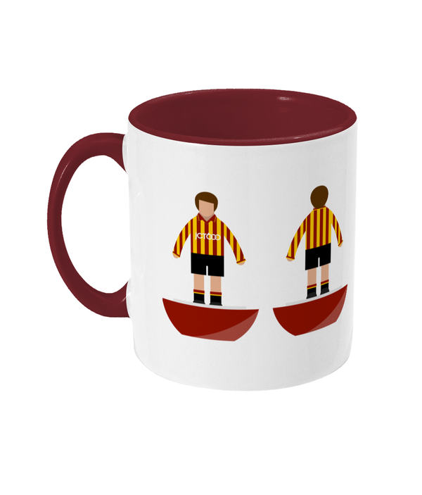 Football Player 'Bradford 1997' Mug