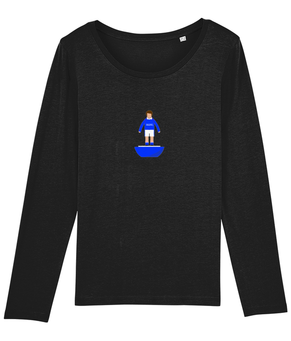 Football Player 'Chesterfield 1997 Mini Print' Ladies Long Sleeve