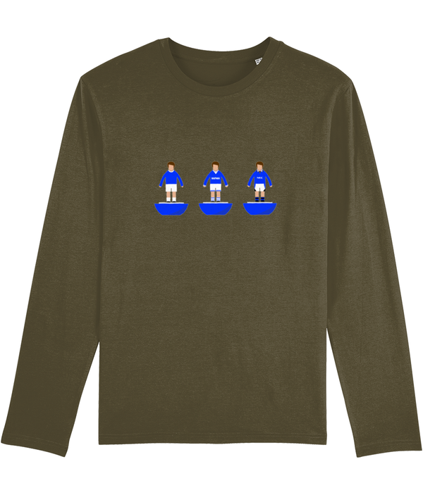 Football Player 'Everton Combined' Men's Long Sleeve