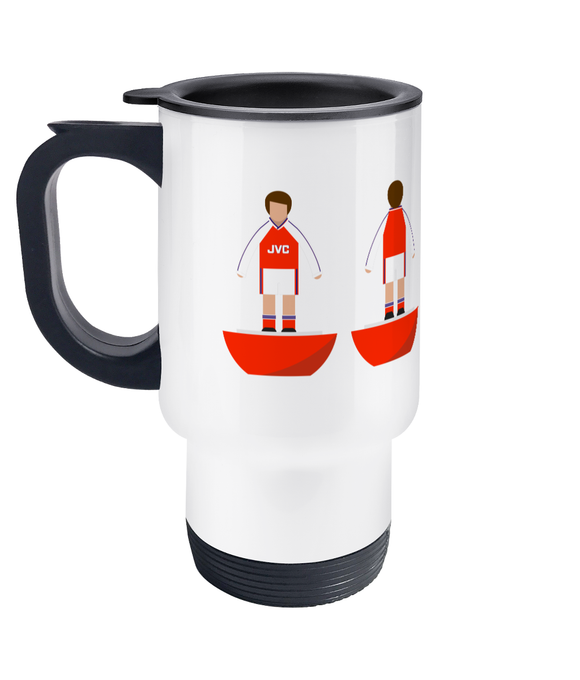 Football Player 'Arsenal 1991' Travel Mug