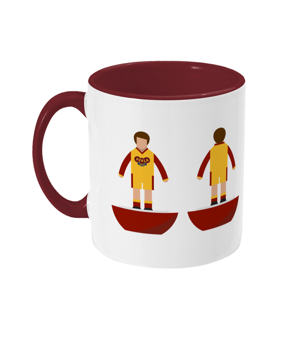 Football Player 'Dukla Prague away' Mug