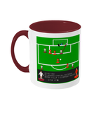 Football Iconic Moment 'Peter Withe Aston V v Bayern Munich 1982' Mug