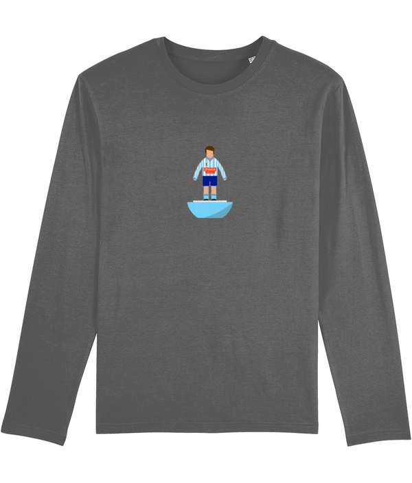 Football Player 'Coventry 1987 Mini Print' Men's Long Sleeve