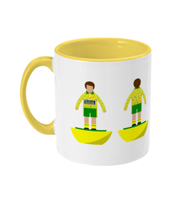 Football Player 'Norwich 1993' Mug