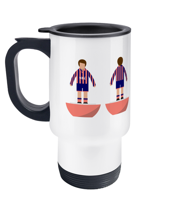 Football Player 'Everton 1992 away' Travel Mug