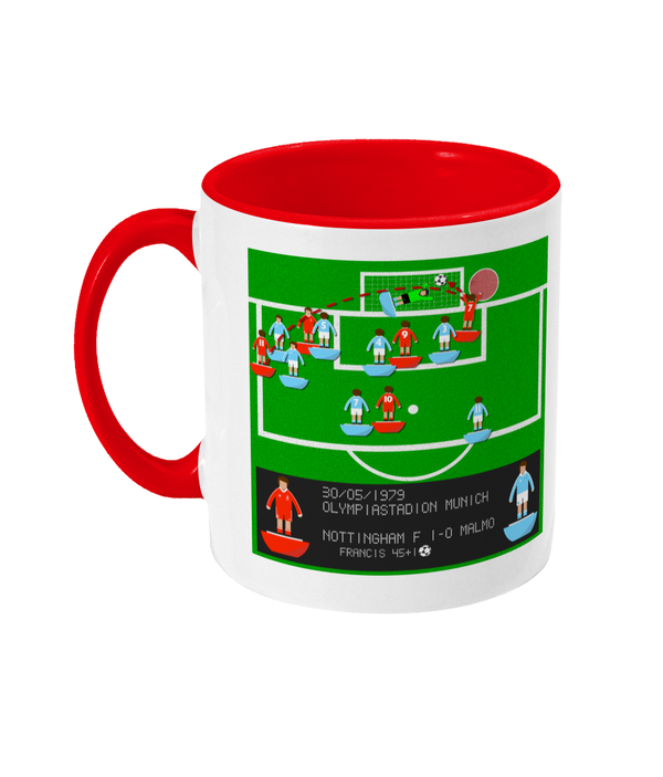 Football Iconic Moment 'Trevor Francis Nottingham F v Malmo 1979' Mug