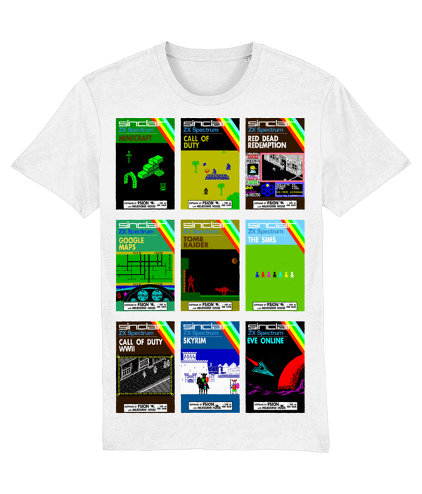 Gaming Sinclair Modern 'PSION mix' Unisex T-Shirt
