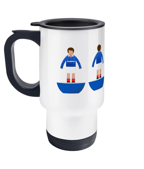 Football Player 'Portsmouth 1991' Travel Mug