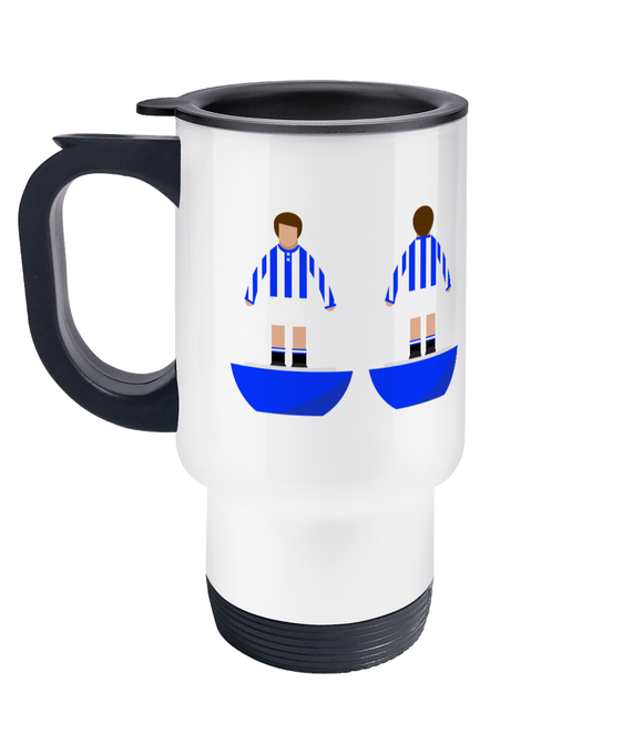 Football Player 'Huddersfield Town 1923' Travel Mug