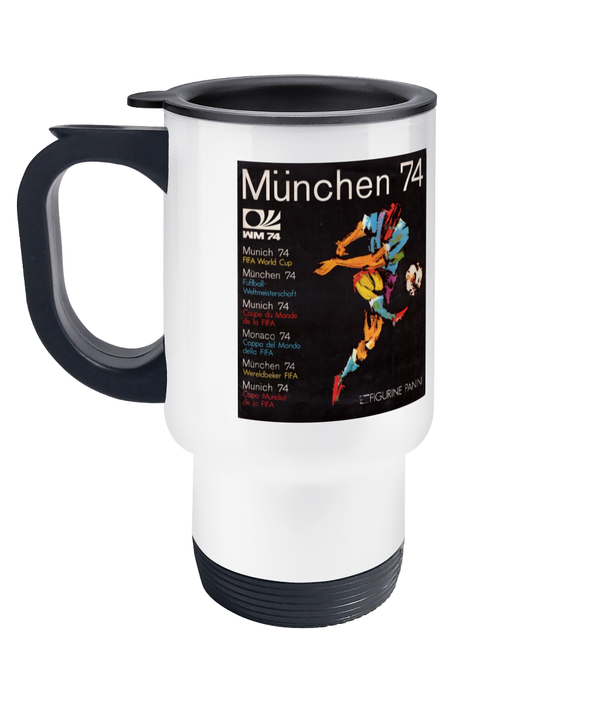 Football Retro 'Munchen 74' Travel Mug