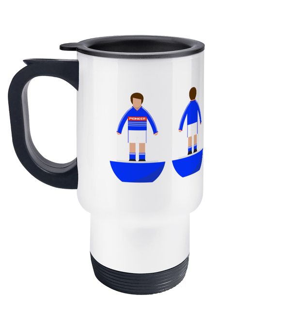 Football Player 'Ipswich 1984' Travel Mug