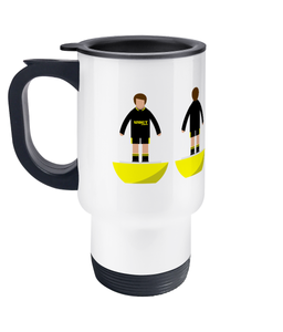 Football Player 'Wigan 2013 FA Cup Final' Travel Mug