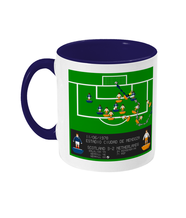 Football Iconic Moment 'Archie Gemmill SCOTLAND v Netherlands 1978' Mug