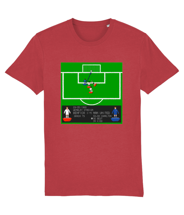 Football Iconic Moment 'George Best Benfica v MANCHESTER U 1968'  Unisex T-Shirt