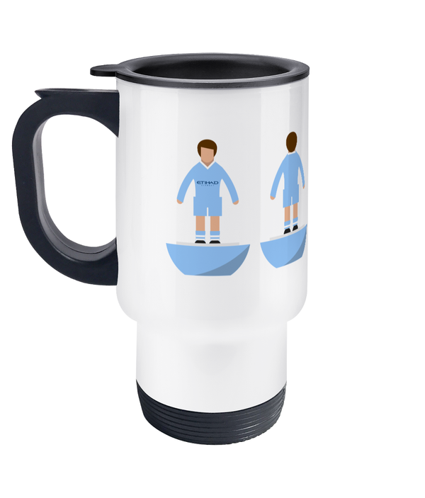 Football Player 'Manchester C 2011' Travel Mug