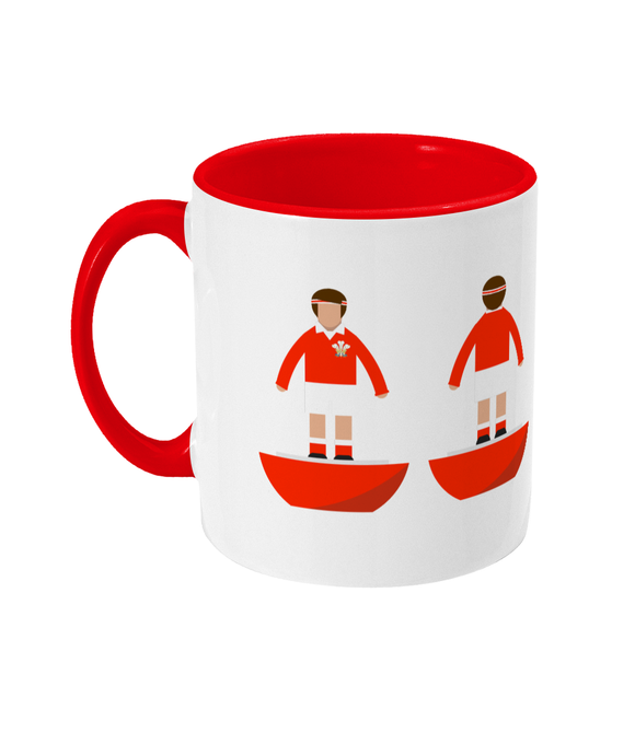 Rugby Union Player 'Wales Traditional' Mug
