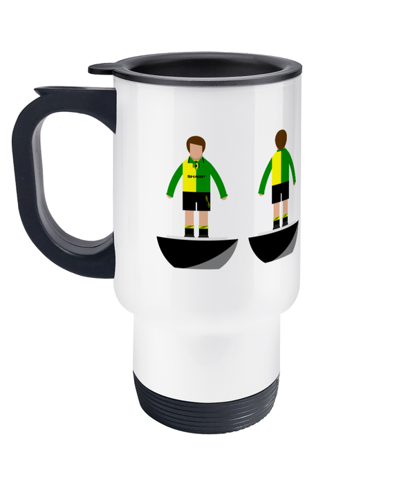 Football Player 'Manchester U 1992 3rd' Travel Mug