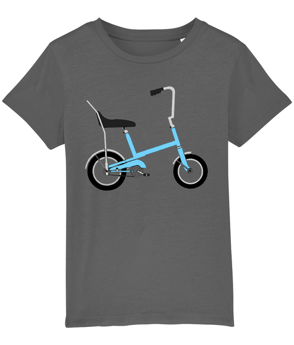 Toys Bikes 'Budgie Blue' Children's T-Shirt