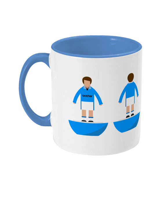 Football Player 'Manchester C 1995' Mug