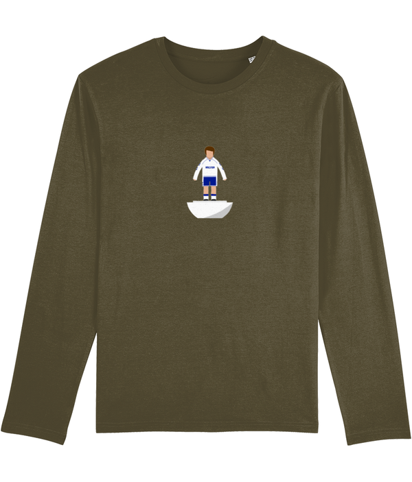 Football Player 'Tottenham 1991 Mini Print' Men's Long Sleeve