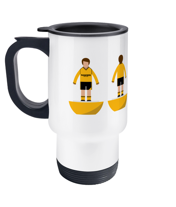 Football Player 'Wolverhampton 1988' Travel Mug