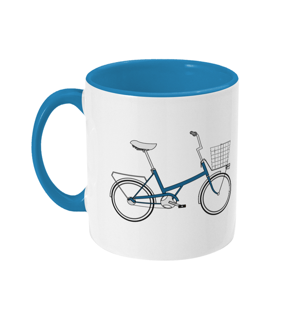 Toys Bikes 'Shopper Blue' Mug