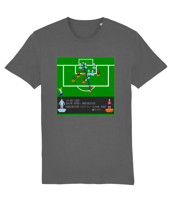 Football Iconic Moment 'Raddy Antic Manchester C v LUTON 1983' Unisex T-Shirt