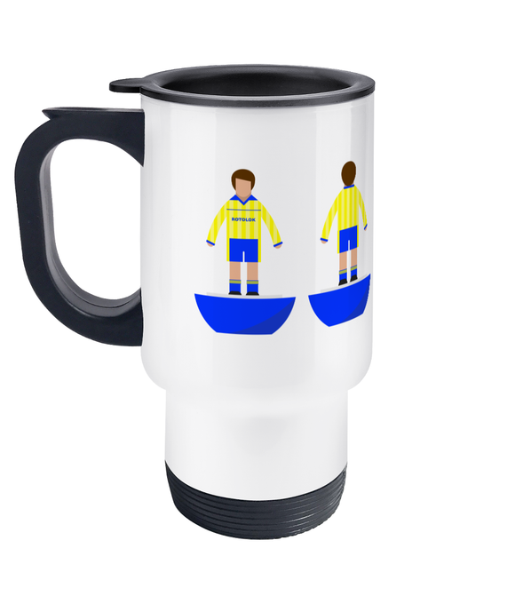 Football Player 'Torquay 1987' Travel Mug