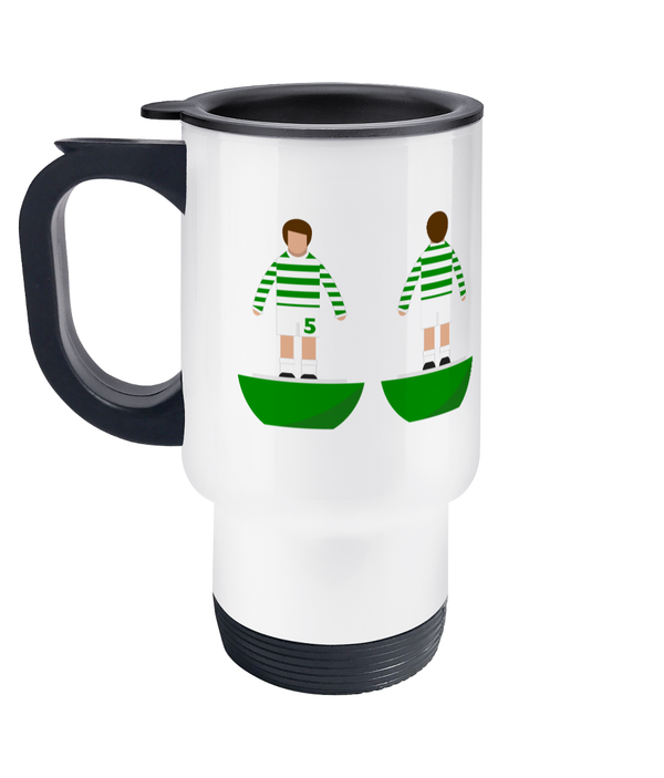 Football Player 'Glasgow Celtic 1967' Travel Mug