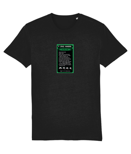 Gaming Arcade 'Space Invaders Instructions' Unisex T-Shirt