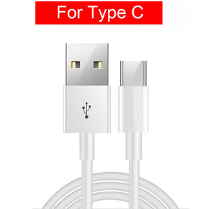 Original GXE 3m USB Type C Fast Charging Micro USB Cable For iPhone Samsung Galaxy S9 S8 Note9 8 Xiaomi Mi 8 Huawei Redmi 4X