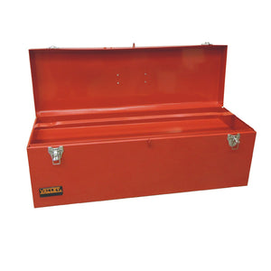 "26"" METAL TOOL BOX  W/ PORTABLE METAL TRAY, PRO SERIES"