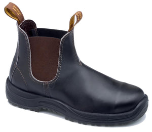 Blundstone SLIP-ON SAFETY BOOTS, Stout Brown, Style 172