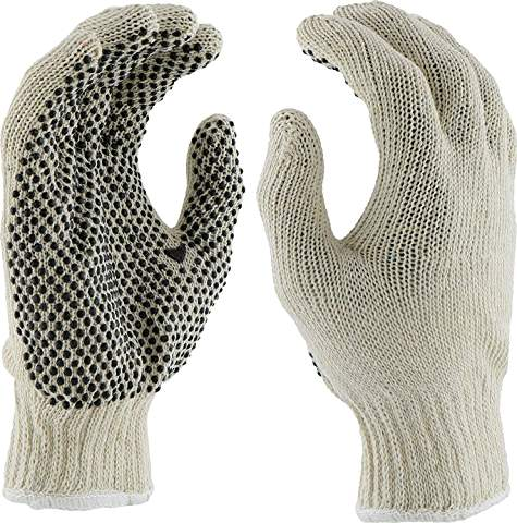 HAND GEAR GLOVES KNITS w/ DOTS 3-PACK