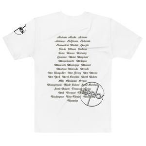 Herrick Distressed White Tour Tshirt