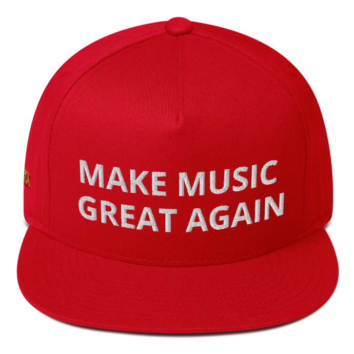 Make Music Great Again Herrick Hat - Flat Bill Cap