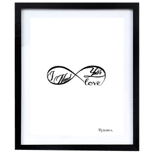 Framed Herrick Lyric Prints (Autographed & Numbered)