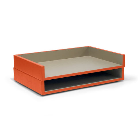 2-Level File Paper Holder