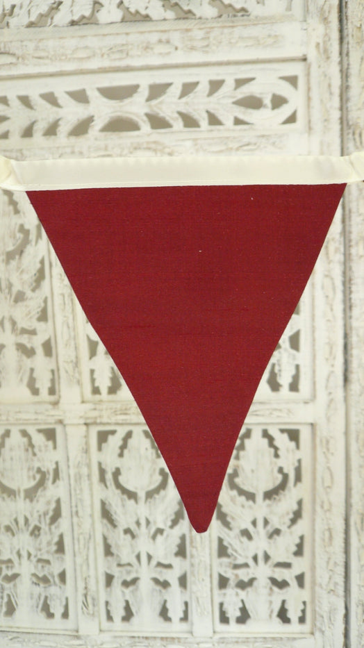 Multi Coloured Pure Silk Bunting 4.2 Metres - New - Indian Suit Company
